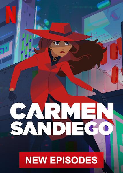 Carmen Sandiego on Netflix UK