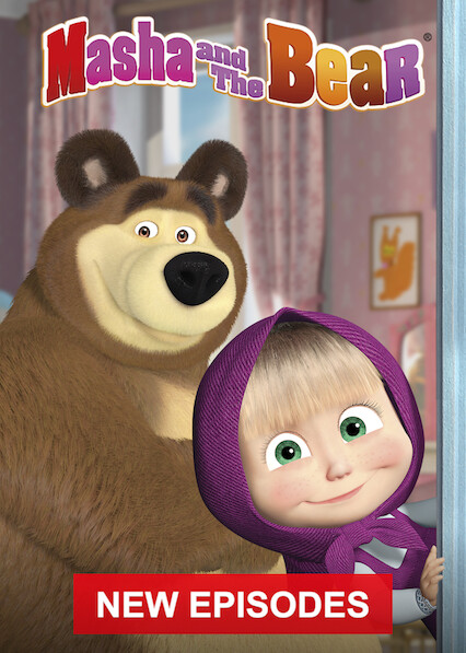 Masha and the Bear on Netflix UK