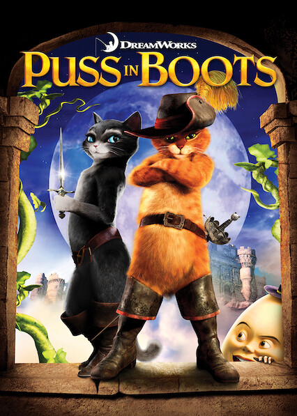 Puss in Boots on Netflix UK
