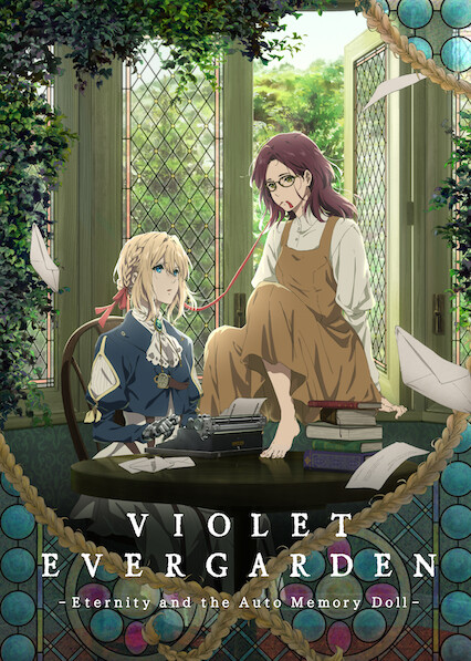 Violet Evergarden: Eternity and the Auto Memory Doll on Netflix UK
